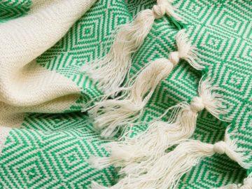 Groene hamamdoek uit Turkije