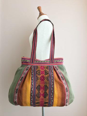 Handgeweven schoudertas uit Peru