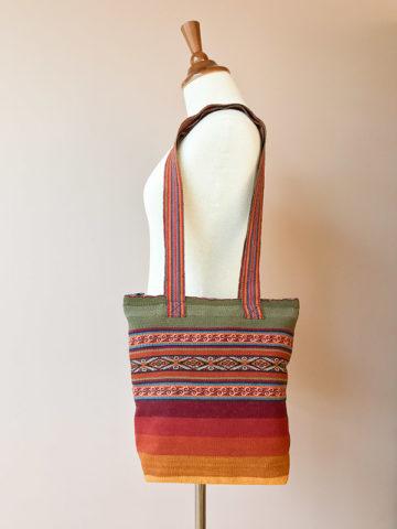 Handgeweven tas uit Peru