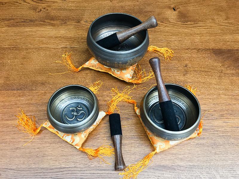 Klankschaal Om Mani Padme Hum uit Nepal