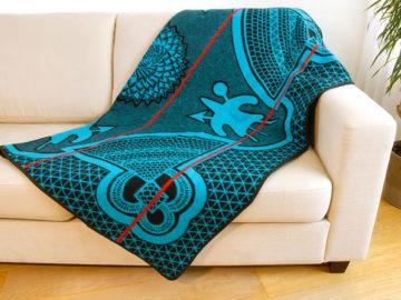 Traditionele Basotho deken Kharetsa